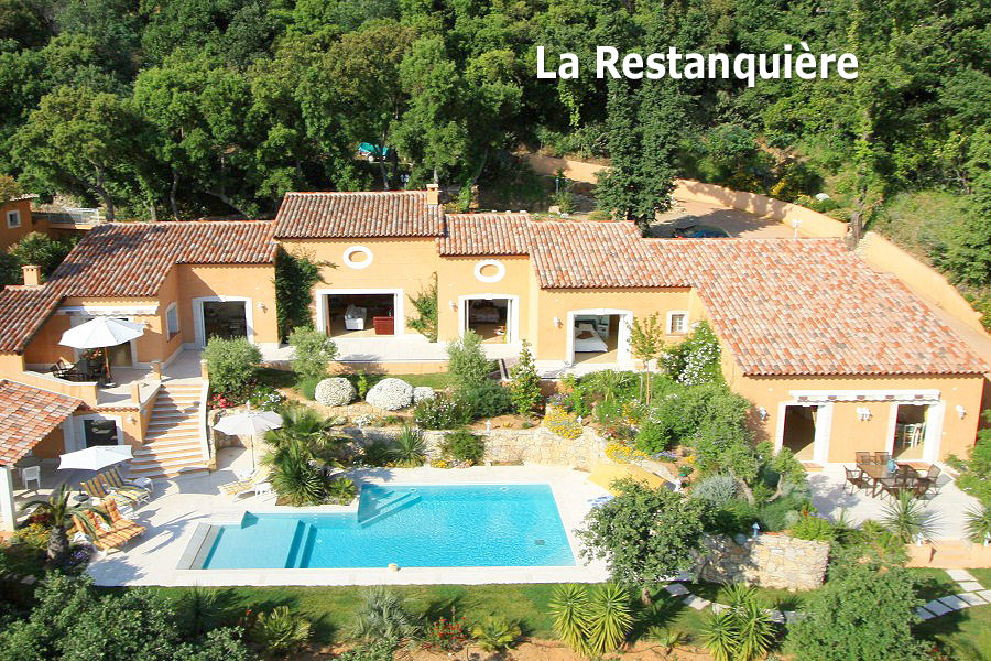 location, maison, grimaud, piscine, saint, tropez